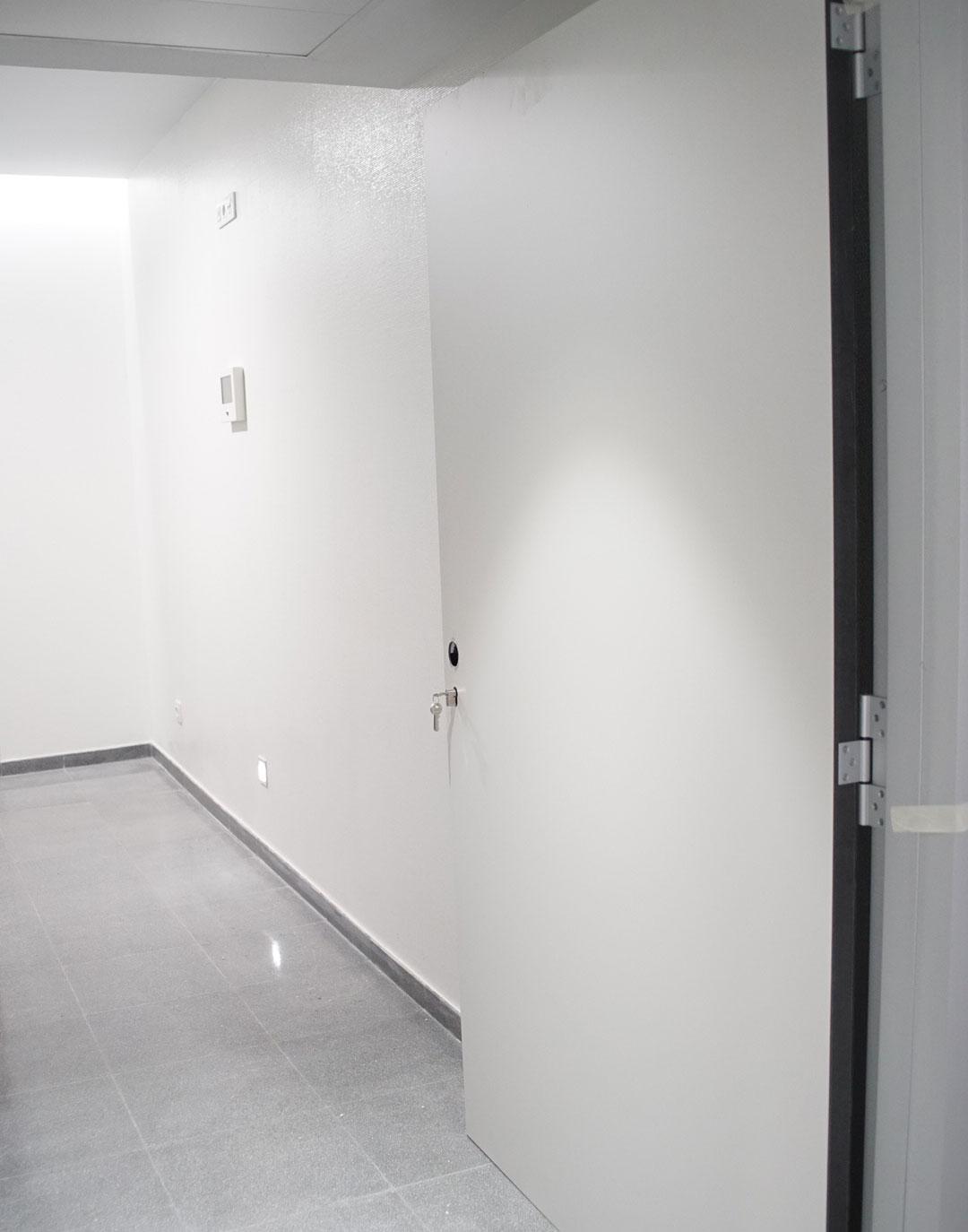puerta hueco obra